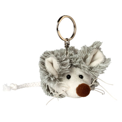plush keychain mouse