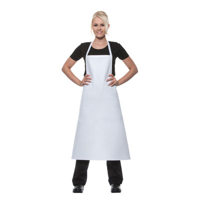 Promotion Bib-Apron - Basic - white - 95x102cm