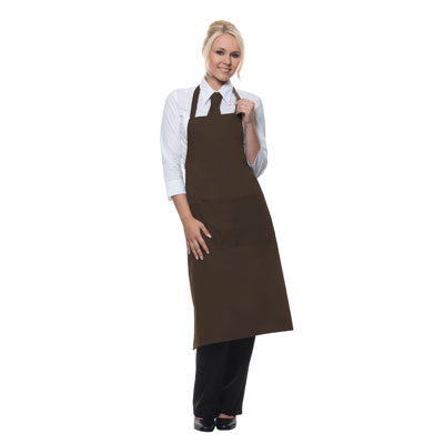 Bib-Apron Denmark, light brown, 75x60cm